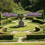 Оформление сада в регулярном стиле