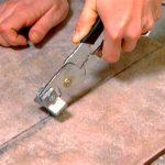 Как и чем можно резать керамическую плитку
