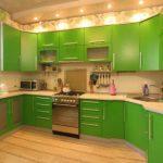 Популярные виды и стили кухонной мебели