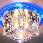 Особенности выбора светильников, встраиваемых в натяжной потолок