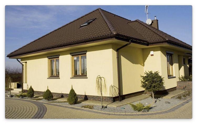 Оздоблення фасаду приватного будинку