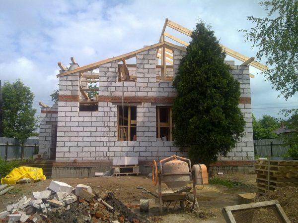 Будівництво будинку з газоблоку